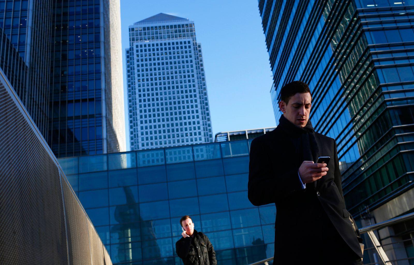 London / Banken-Viertel / Banken / Banker /