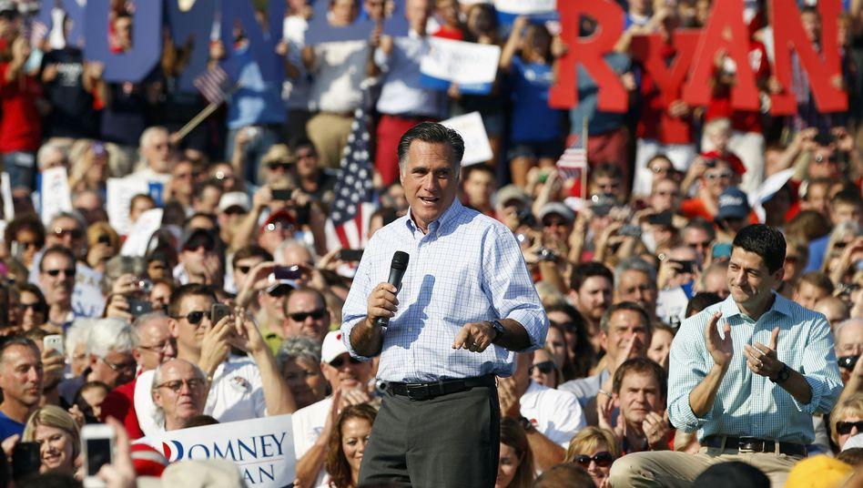 Mitt Romney: Die Delegierten haben den Multimillionär zum Präsidentschaftsbewerber ernannt