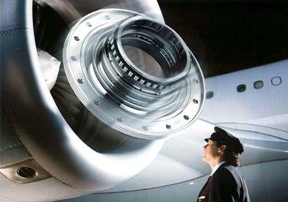 Lieferant für Luft- und Raumfahrt: Flugzeugturbine, Speziallager von FAG