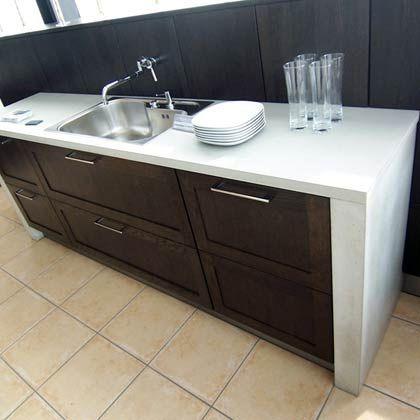 Küchentauglich: Mit dem richtigen Schliff ähnelt Beton Marmor
