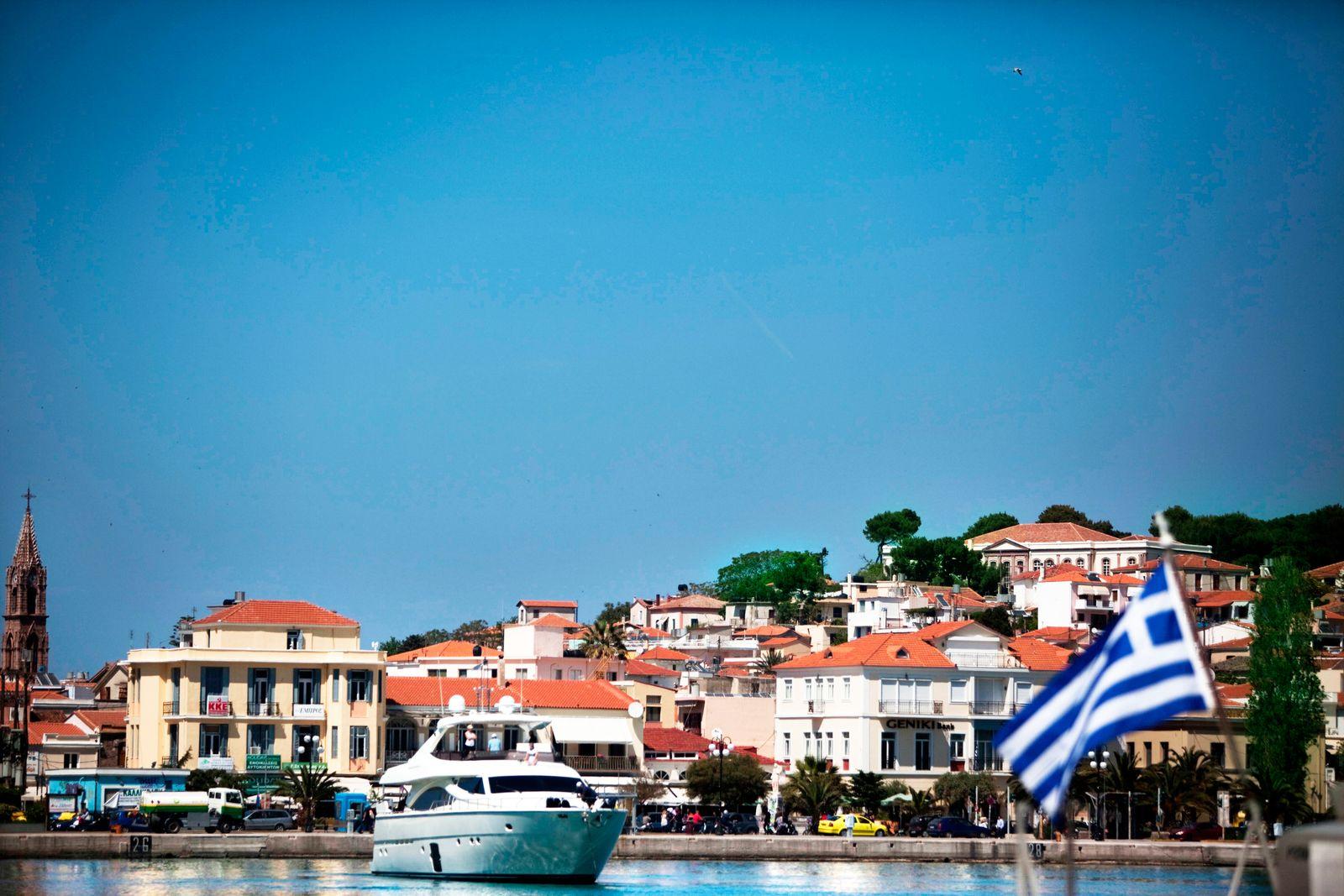 Griechenland / Reiche Griechen / Yachts /Die Reiche Griechen Reichtum / reich