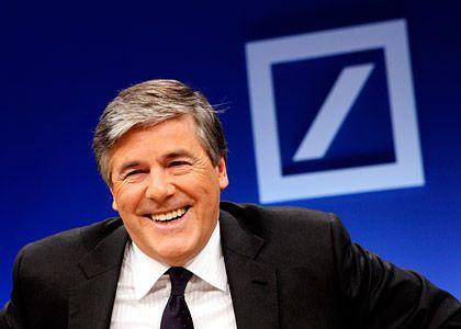 Organisiert offenbar Hilfspaket: Deutsche-Bank-Chef Ackermann wirbt für Griechenland-Hilfen