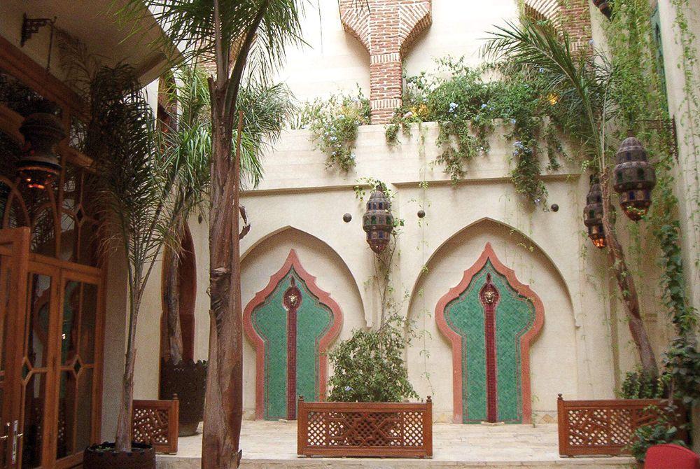 EINMALIGE VERWENDUNG La Maison Arabe / Marrakesch