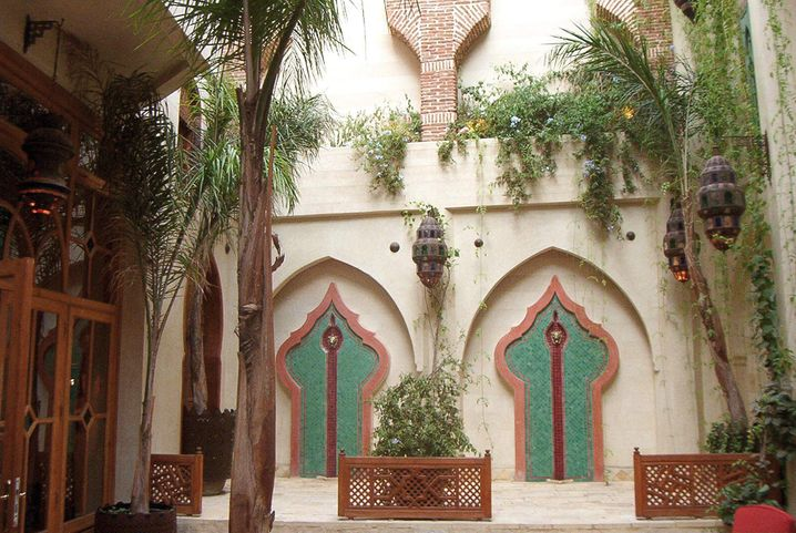 Privatgarten mit Shuttle-Service: La Maison Arabe