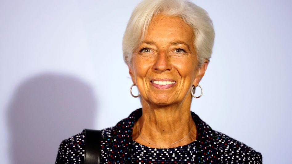 Christine Lagarde vor Treffen mit Bundesfinanzminister Olaf Scholz im September