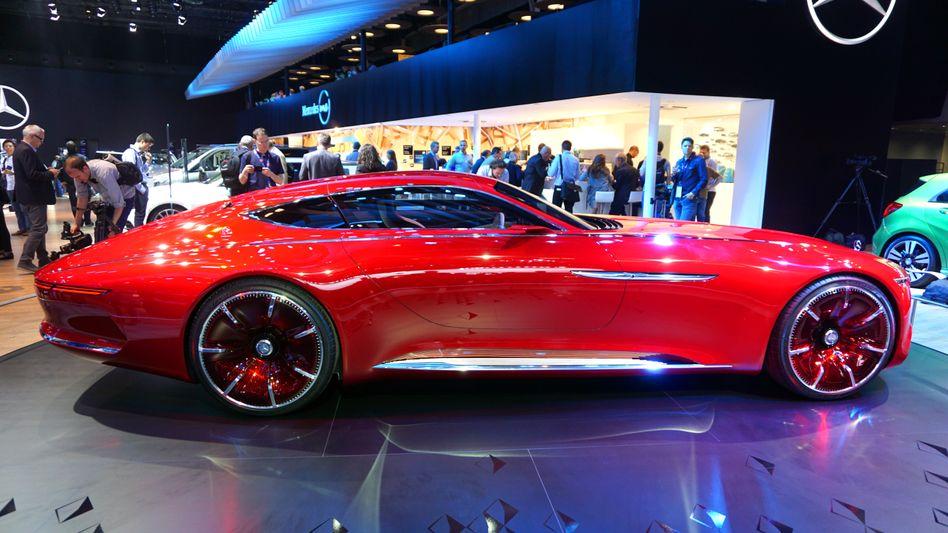 Studie der Luxusmarke Maybach: Halbleiter machen in Autos inzwischen oft den technischen Unterschied.