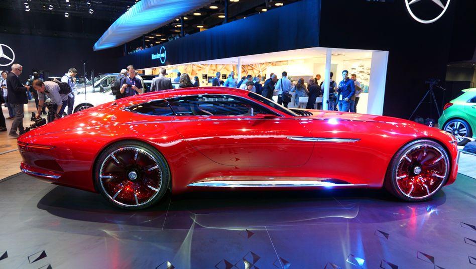 Mercedes Maybach Concept Car auf der Autoshow in Paris: Autohersteller sind auch an der Börse wieder obenauf