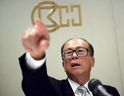 Auf ins Internetzeitalter: Mit Li beteiligt sich einer der reichsten Männer Asiens an der Kontaktbörse