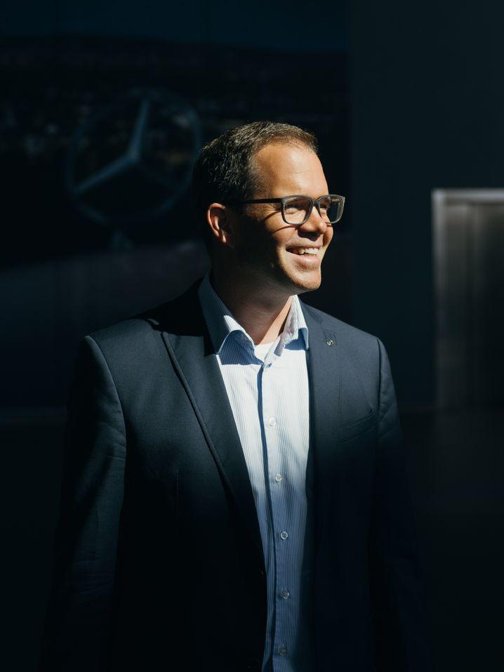 Wilko Stark: Daimlers Chefstratege leitet auch die Einheit CASE, die Daimlers Elektroauto-Fahrplan erstellt