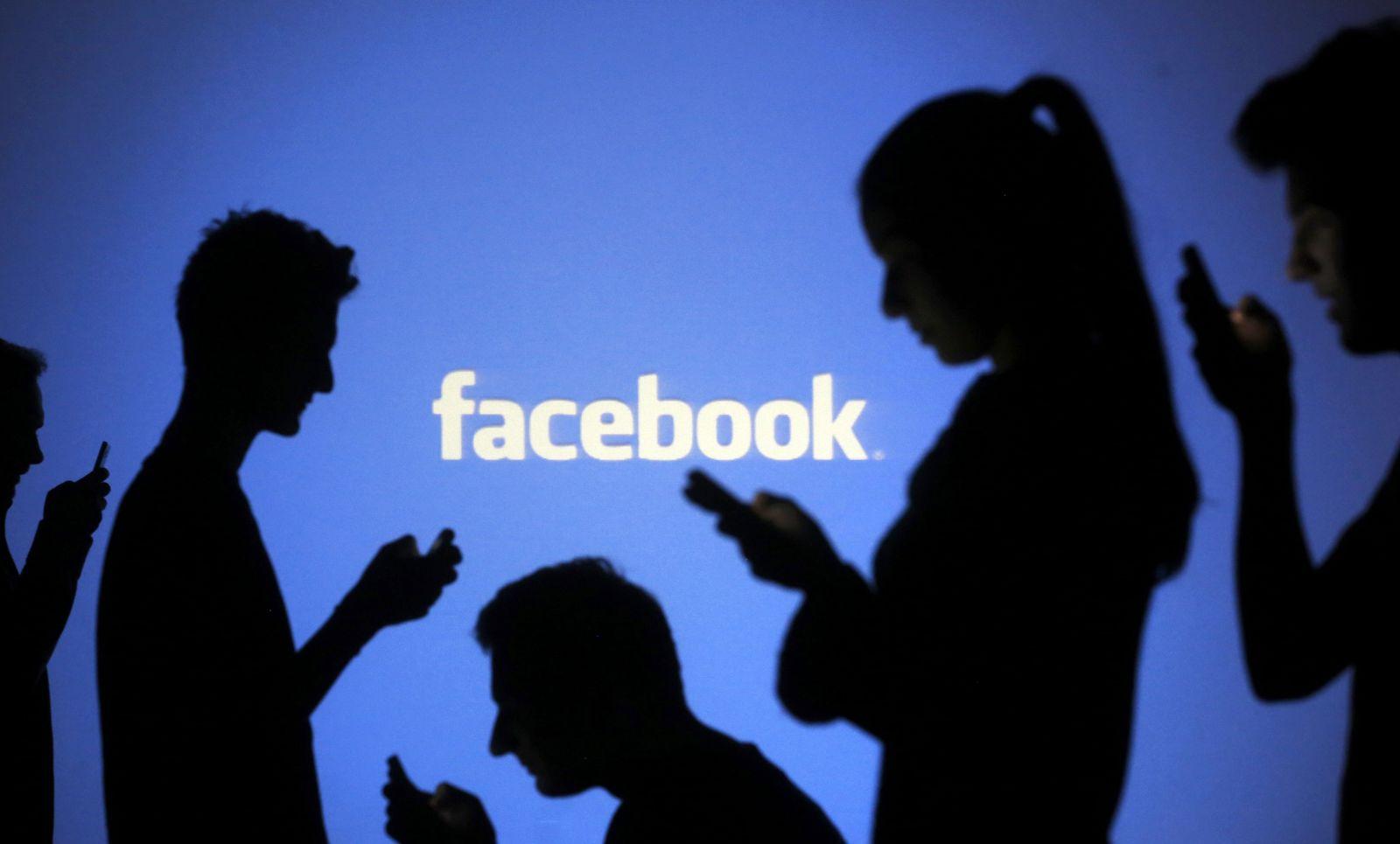 Facebook Symbolfoto
