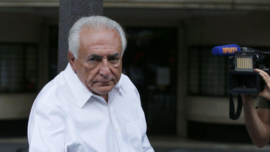 Freier Mann: Dominique Strauss-Kahn ist vom Vorwurf der Zuhälterei freigesprochen worden