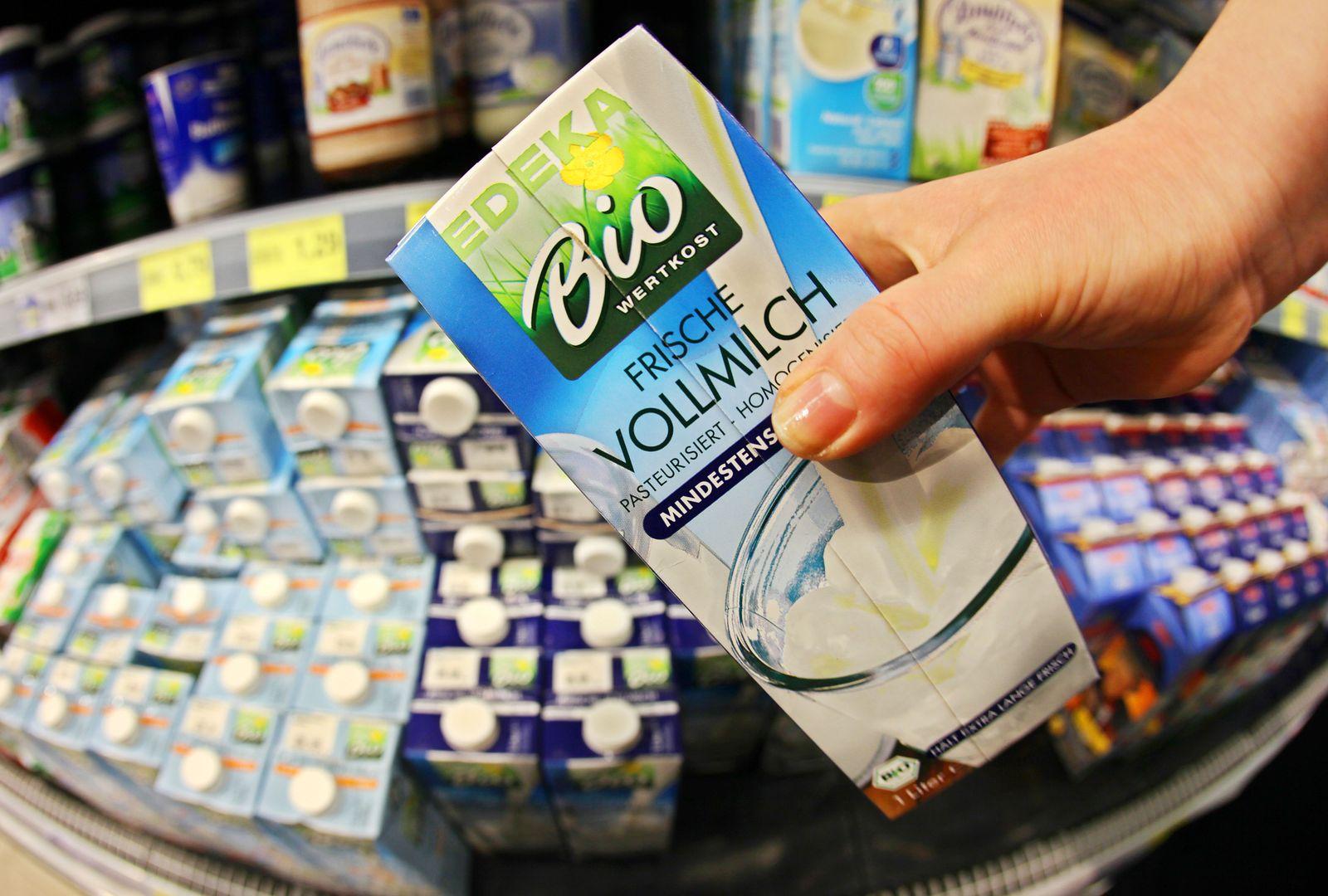 Milchquote / Milchpreise - Milch im Supermarkt