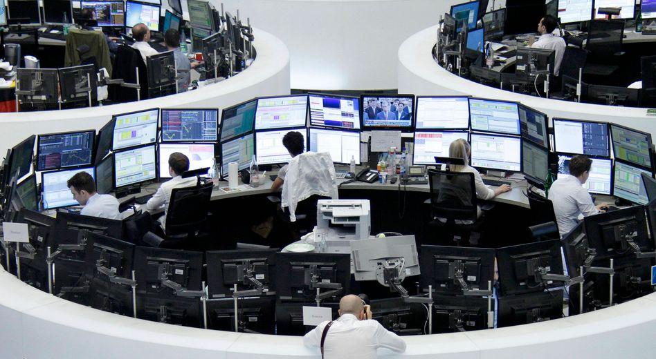 Ruhiger Handel: An der Frankfurter Börse gab es zum Wochenausklang kaum große Kursbewegungen