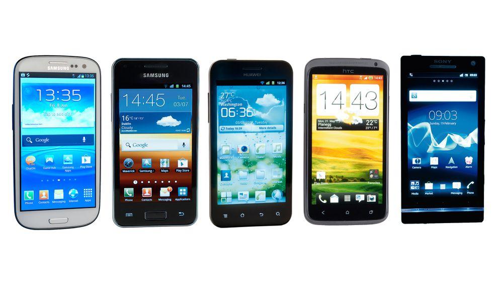 Android-Smartphones: Die neun besten im Warentest