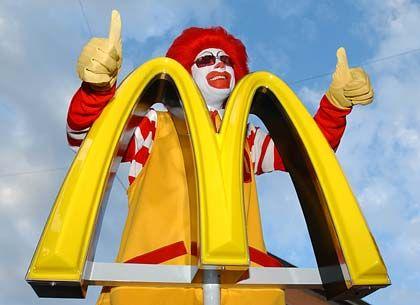 McDonalds-Filiale in München: Mit Coffeeshops auf Platz zwei hinter Tchibo
