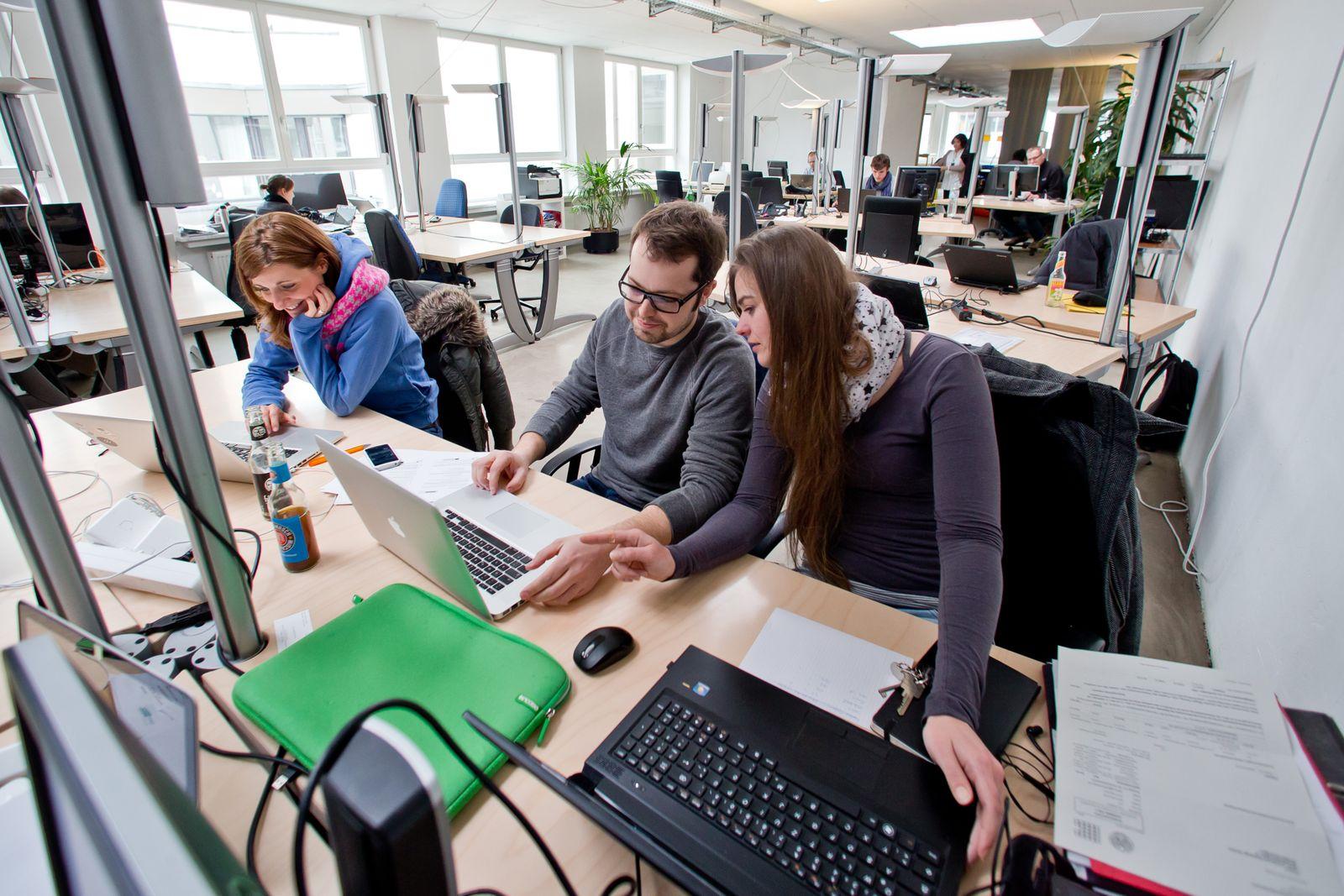 Coworking Space / Kreatives Büro / Freiberufler / Startups
