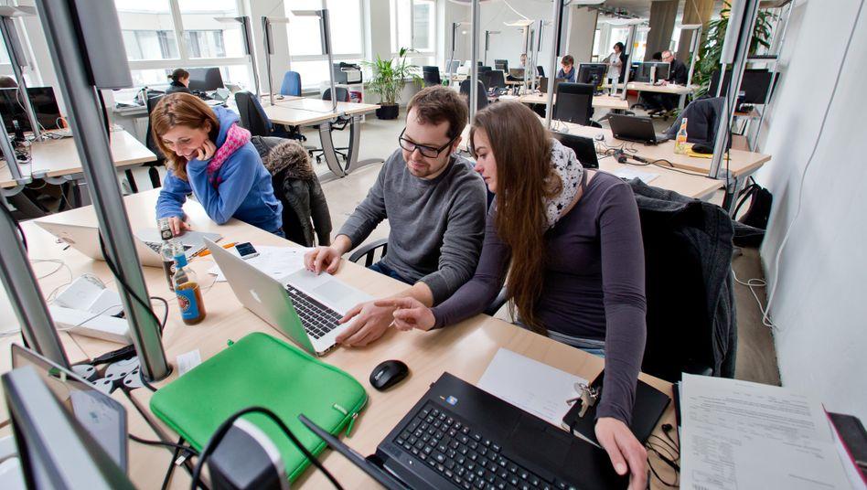 Coworking Space in Nürnberg (Archivbild): Der Geist des Entrepreneurtums