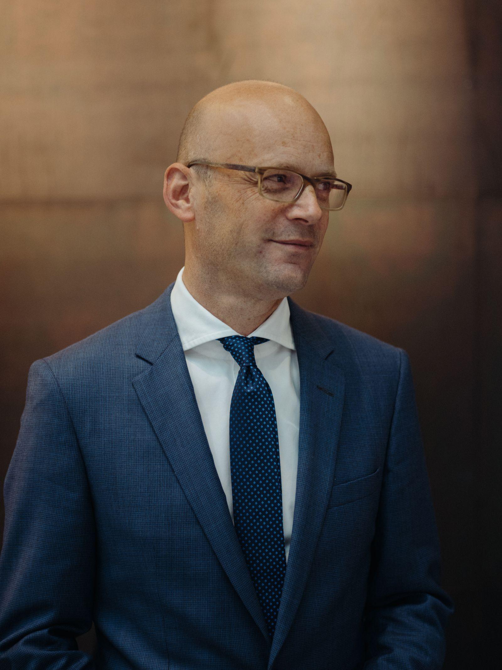 Mark Langer, CEO Hugo Boss