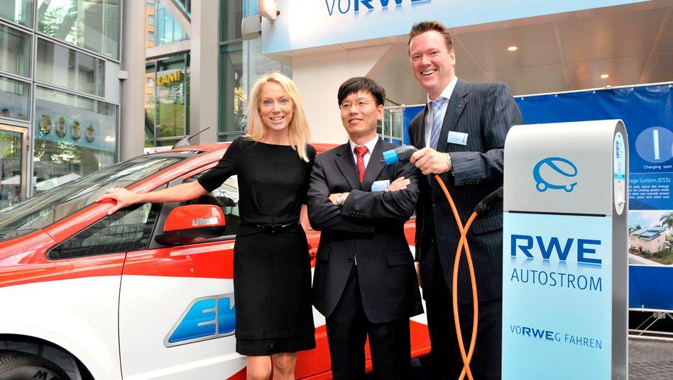 Einst große Pläne: RWE hatte im Herbst 2010 seine Kooperation mit chinesischen E-Autohersteller BYD bekanntgegeben. Jetzt ist sie geplatzt