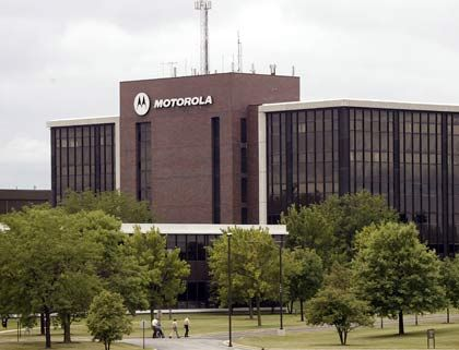 Motorola-Zentrale in den USA: Insgesamt müssen mehr als 10.000 Mitarbeiter gehen
