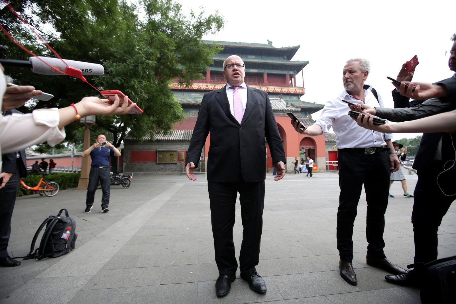 CHINA-GERMANY/ECONOMY