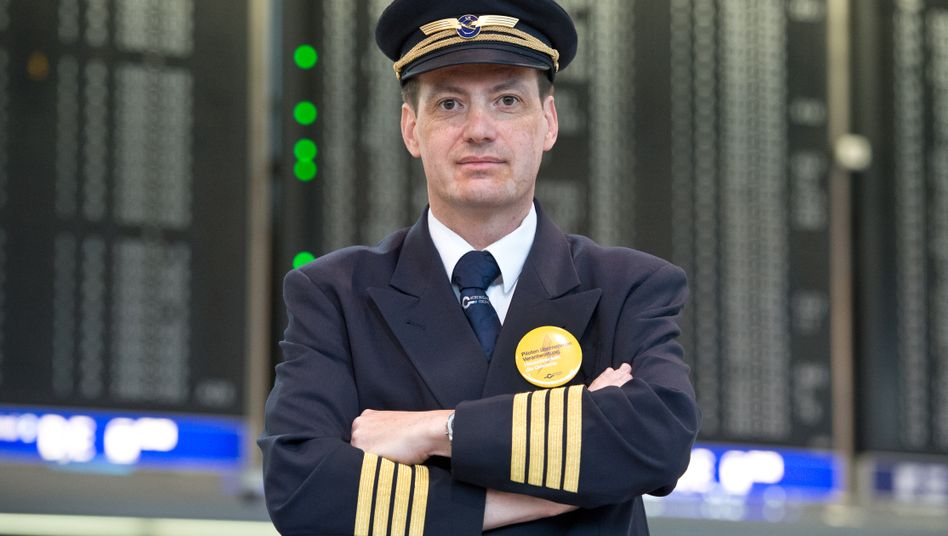 """VC-Chef Handwerg: """"Piloten sollen eingeschüchtert werden und Angst haben. Nach dem Motto: Sie bekommen das, was wir ihnen zugestehen, und nicht mehr"""""""