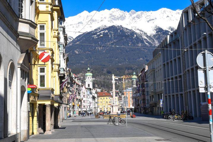 Innenstadt von Innsbruck