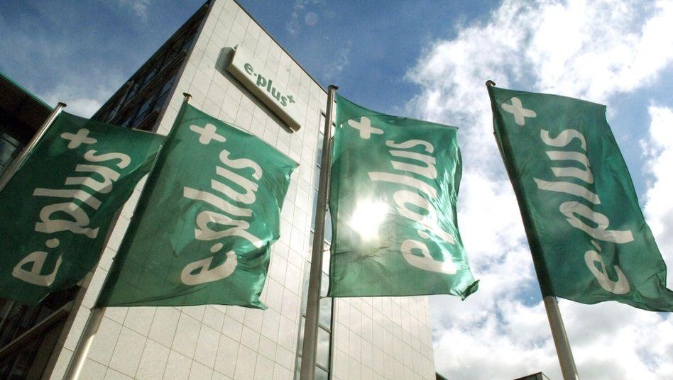 E-Plus-Zentrale in Düsseldorf: Kartellexperten haben Bedenken