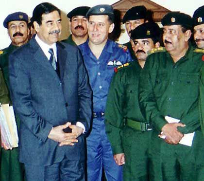 Saddam und sein Clan: Dichtes Netz von Korruption und Erpressung