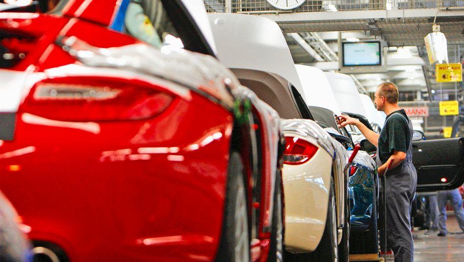 Porsche-Produktion
