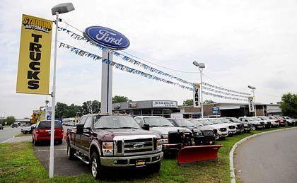 Trübe Aussichten: Nicht nur den Autoherstellern geht es schlecht in den USA