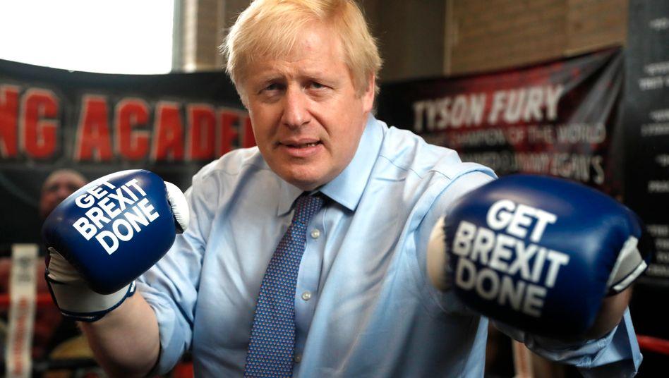 Der britische Premierminister Boris Johnson hofft einmal mehr auf schnelle Verhandlungserfolge mit der EU