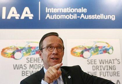 Seit 2007 im Amt: Der VDA-Präsident Matthias Wissmann