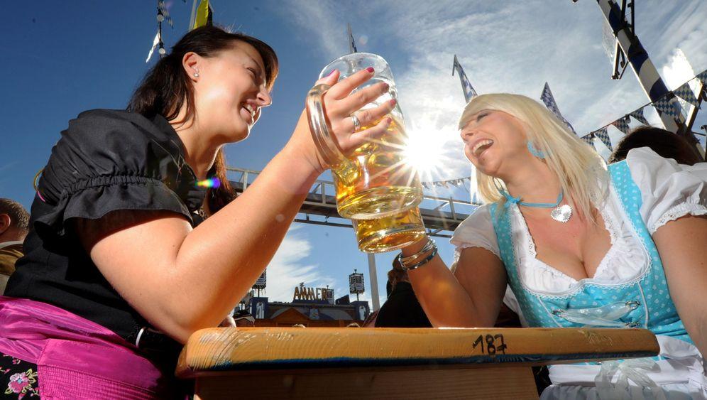 Oktoberfest: Feierlaune auf der Theresienwiese