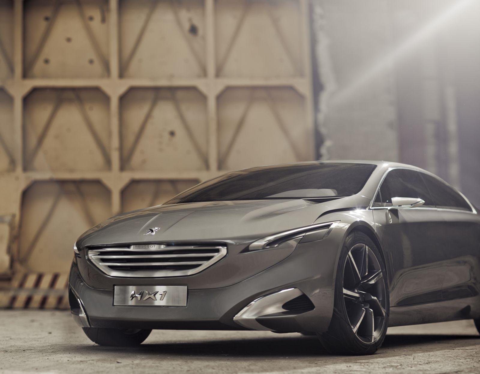 Peugeot HX1 / Außenansicht