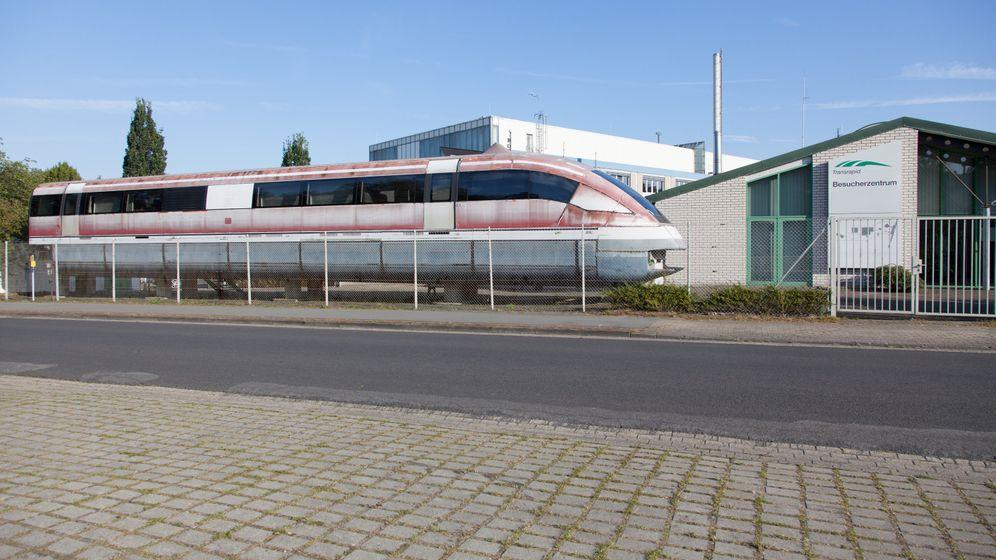 Transrapid: Vom Hightech-Zug zum Versteigerungsobjekt