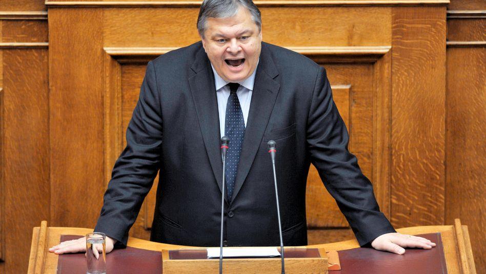 """Finanzminister Venizelos: """"Es hängt von uns ab, ob wir es schaffen"""" - aber nicht nur"""
