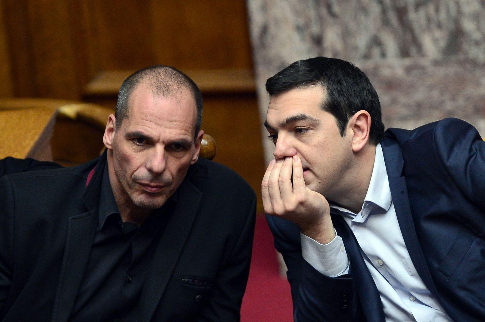 Tsipras / Varoufakis