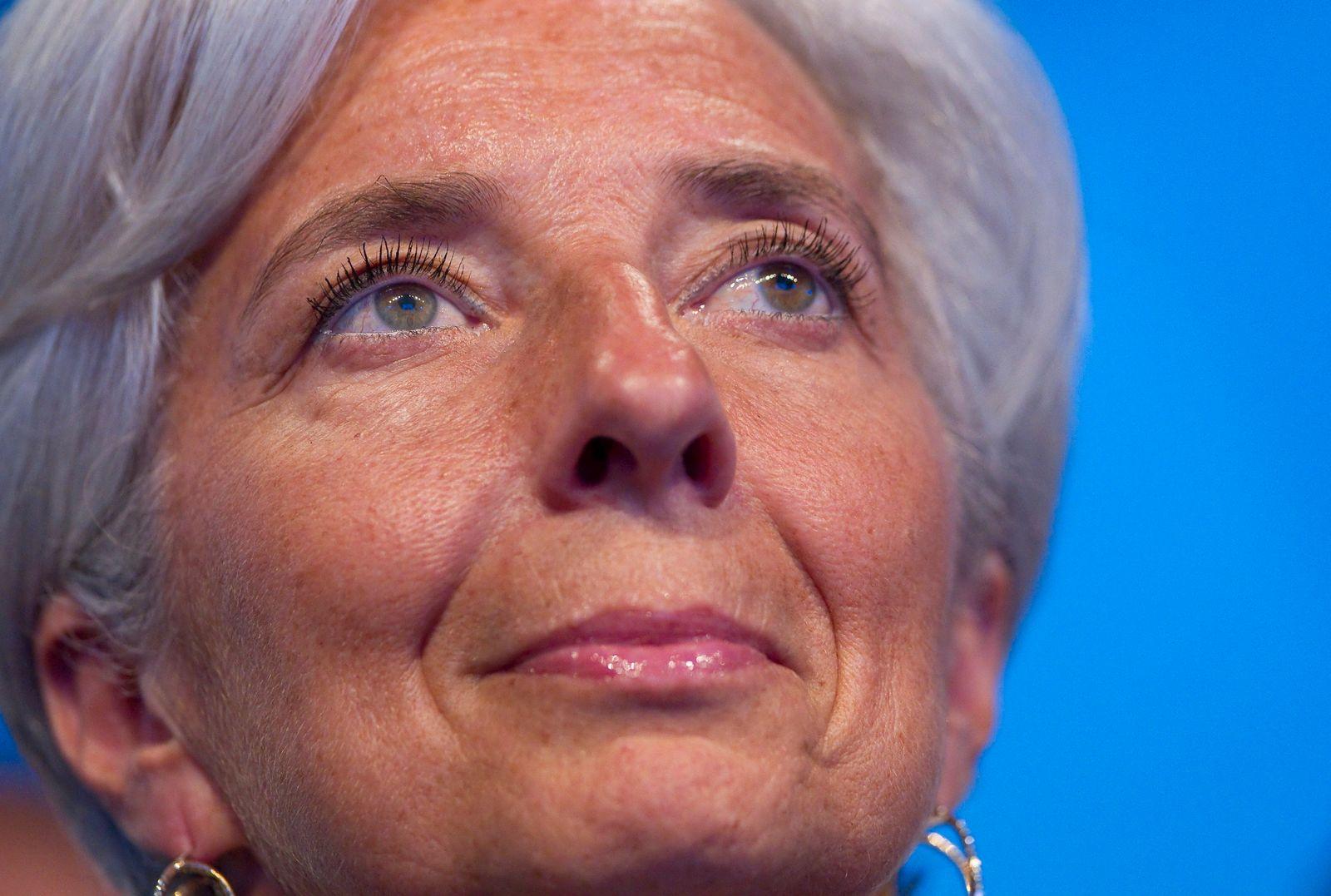 Paris E-G8 summit / Christine Lagarde