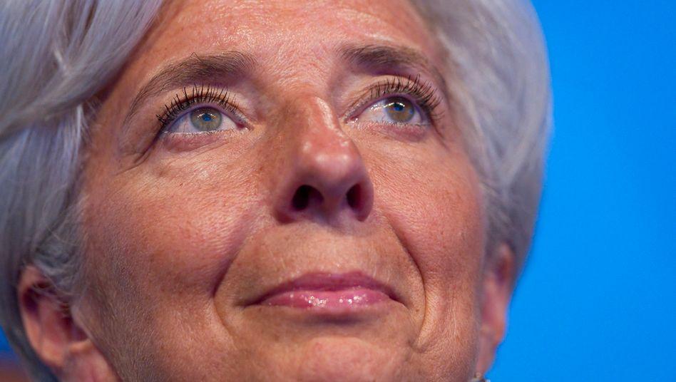 Finanzministerin Lagarde: Die 55-Jährige wäre die erste Frau an der Spitze des IWF