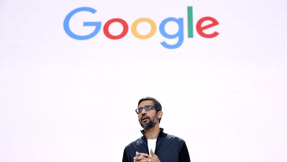 """Google-Chef Sundar Pichai: """"Beleidigend und nicht okay"""""""