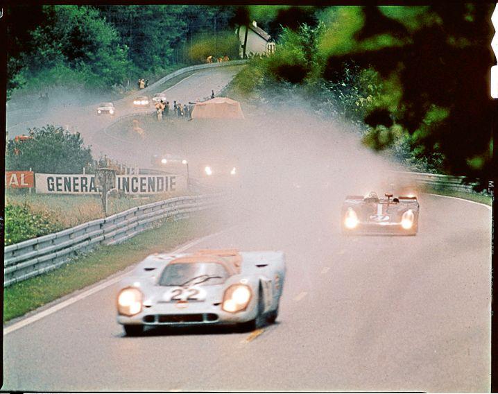 """Und noch einmal eine Szene aus dem Film """"Le Mans"""""""