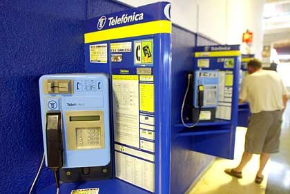 Zur Kasse gebeten: Telefonica muss wegen Marktmissbrauchs ein Bußgeld von 151,9 Millionen Euro zahlen, will sich gegen die EU-Entscheidung aber wehren