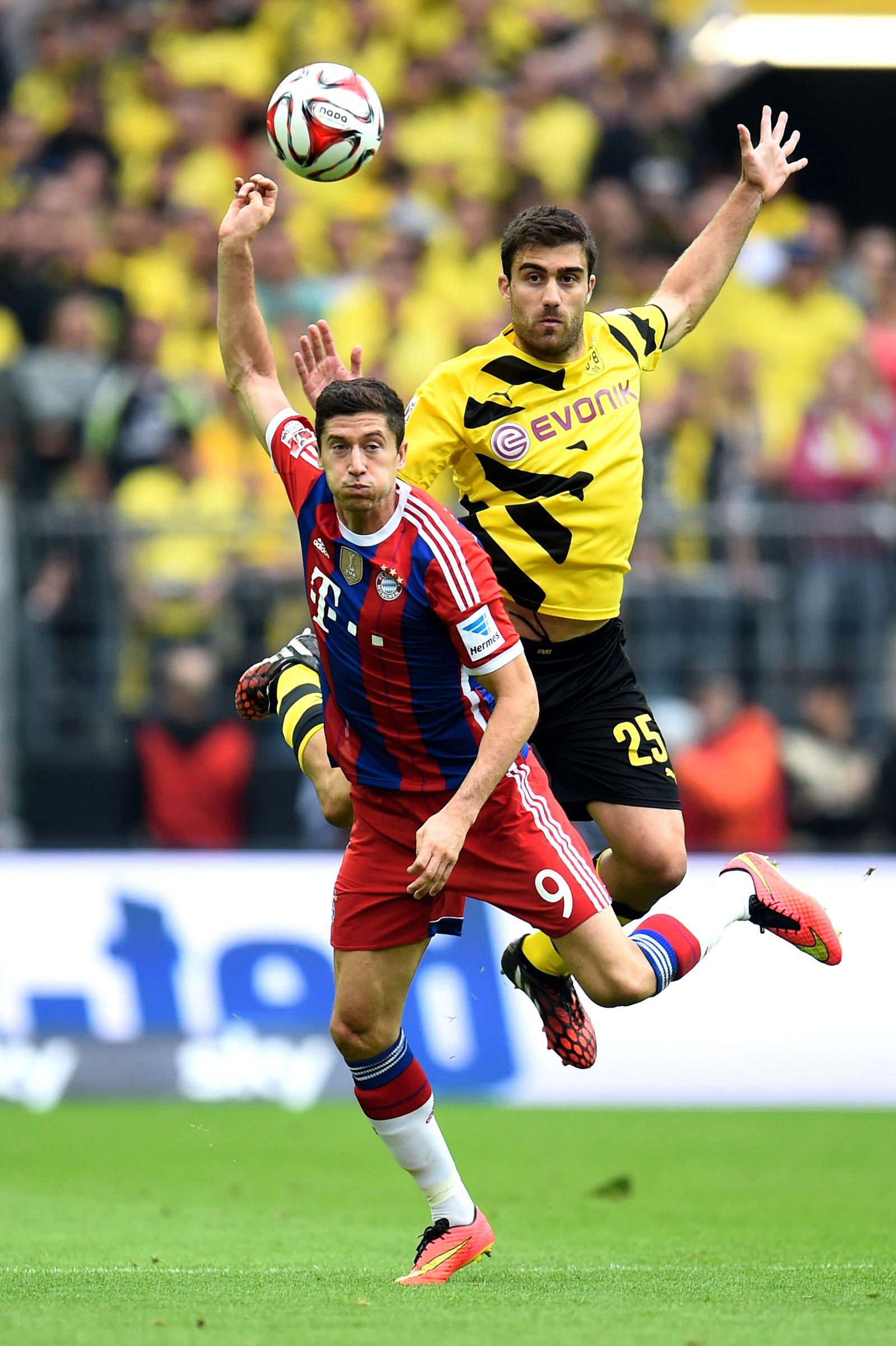 Borussia Dortmund vs Bayern München/ Supercup Finale 2014