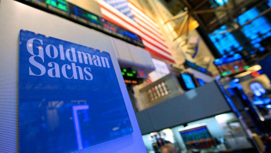 Goldman Sachs auf dem New Yorker Börsenparkett: Die US-Bank hat Probleme in ihrer Fondssparte