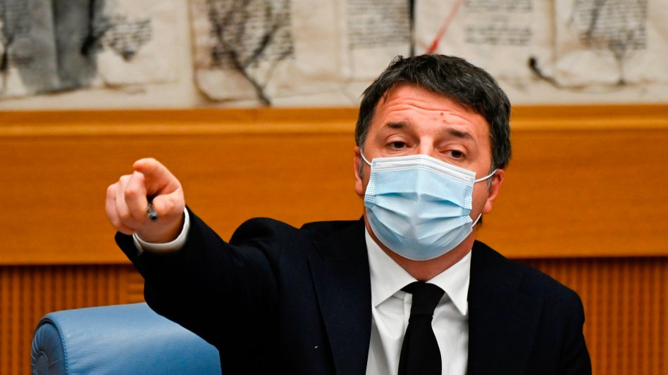 Streit über die von der EU zugesagten Corona-Hilfen: IV-Chef Matteo Renzi lässt die Koalition platzen