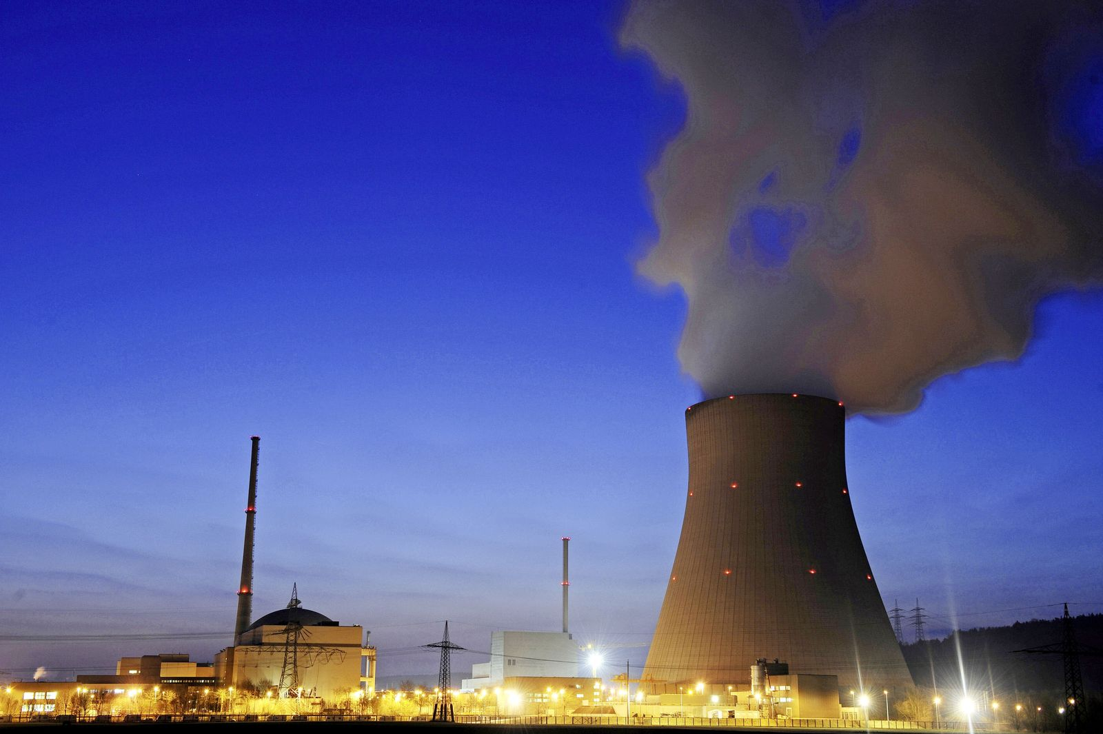 Eon / Kernkraftwerke / Isar / AKW