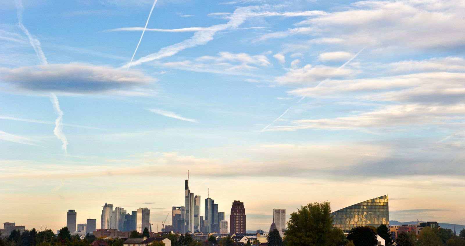 Frankfurt am Main / Banken / Skyline