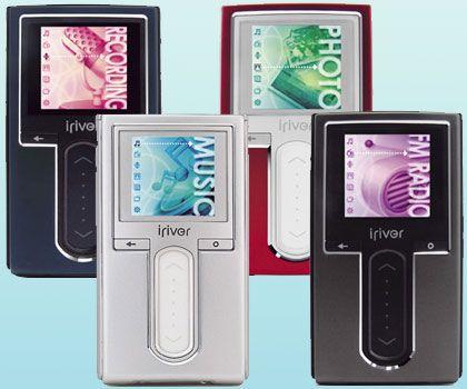 H10-Serie von iRiver: Der Player glänzt mit Farbdisplay und Fotofunktion