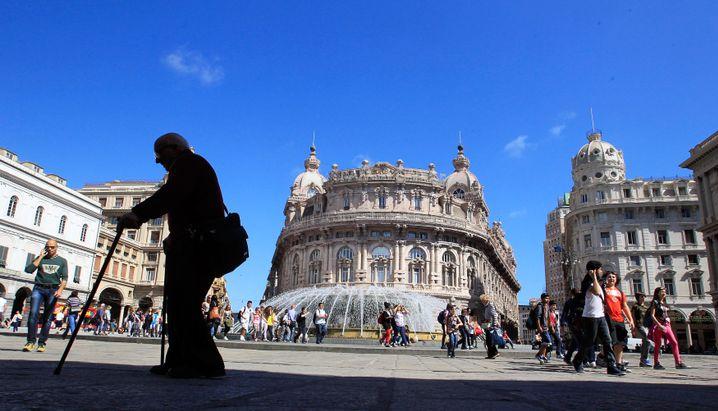 Hafenstadt Genua: Der Ursprung des modernen Bankwesens - und ein Volk leidender Kleinsparer